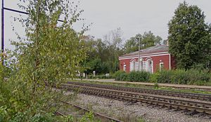Kunyinsky District - Kunya railway station