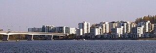 Ward of Jyväskylä in Western Finland, Finland