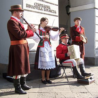 Kurpie - Kurpie folk group from Kadzidło
