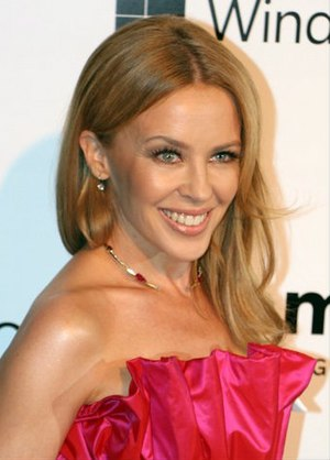 Kylie Minogue - Minogue at an amfAR event, 2015