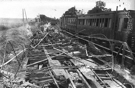 Liste Des Accidents Ferroviaires En France Au Xxe Siècle