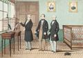 L'auteur de la Théorie des Ressemblances recevant à Paris l'illustre visite de son Altesse Royale le Duc d'Oporto (12 Juillet 1855).png