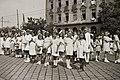 Lányok alkalmi ruhában 1947, Budapest. Fortepan 92642.jpg