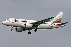 Bulgaria Air - Bulgaria Air Airbus A319-100