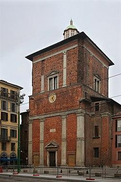 La Basilica di San Nazaro in Brolo, Milano, veduta della Cappella Trivulzio.jpg