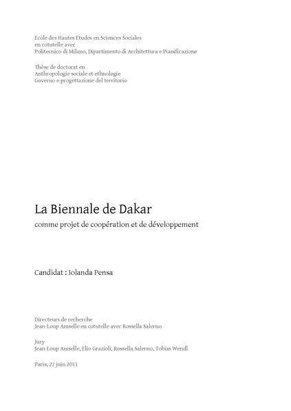 File:La Biennale de Dakar comme projet de coopération et de développement.pdf