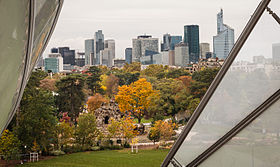 La Defense from Foundation Louis Vuitton, Paris 21 October 2015.jpg