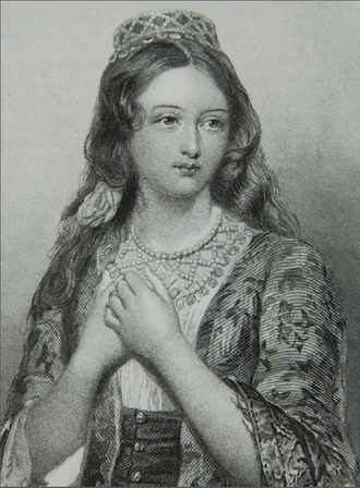 María Ignacia Rodríguez de Velasco y Osorio Barba - Image traditionally believed to depict María Ignacia Rodríguez de Velasco.