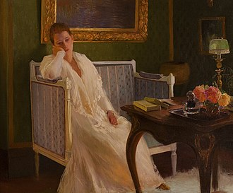 Boredom - Boredom by Gaston de La Touche, 1893