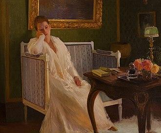 Boredom - Boredom by Gaston de La Touche, 1893