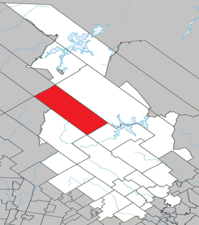Lac-Matawin Quebec location diagram.png