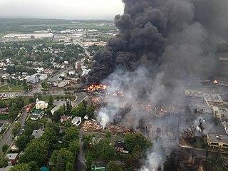 Lac-Mégantic rail disaster 2013 train crash disaster in Lac-Mégantic, Québec, Canada