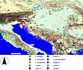 Lacerta viridis bilineata and Adriatic lineage clades after Marzahn et al 2016.jpg