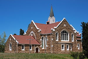 Lady Grey, Eastern Cape - Lady Grey Church, Eastern Cape.