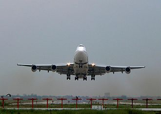 Allama Iqbal International Airport - PIA Boeing 747