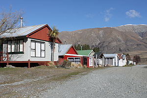 Lake Clearwater (village) - Baches in Lake Clearwater