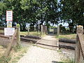Lake public footpath SS66 railway crossing.JPG