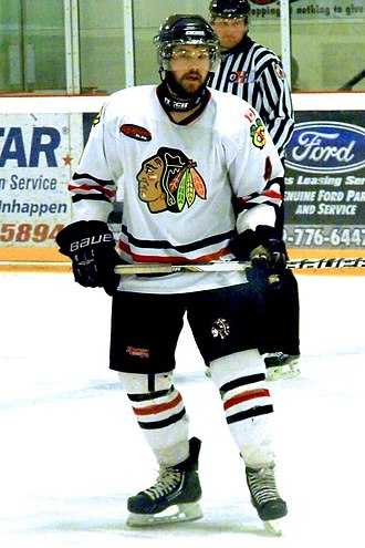 Lakefield Chiefs - Lakefield player during 2014 Schmalz Cup final.