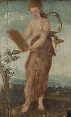 Woman with Text Panel