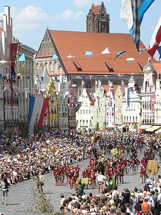 Landshut Wedding - Part of the Landshut Wedding of 2005