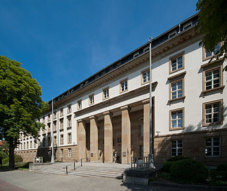 Landtag of Thuringia - The Landtag of Thuringia (front)