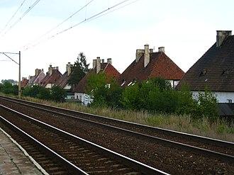 Łapy - Railwaymen's settlement Osse