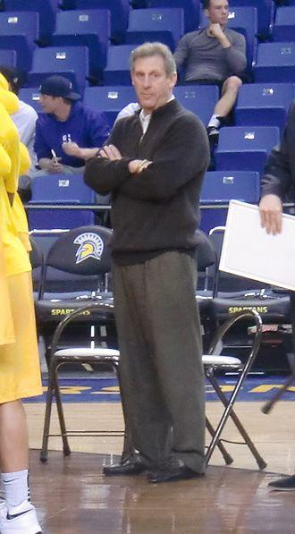 Larry Shyatt - Shyatt in 2016 at the Event Center Arena at San Jose State University.