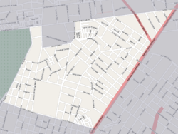 Street map of Las Acacias