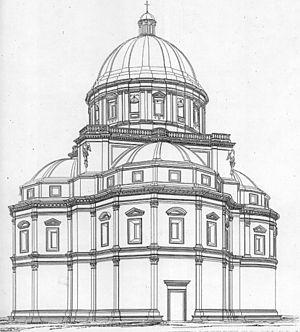 Santa Maria della Consolazione (Todi) - Image: Laspeyres.Todi.conso lazione