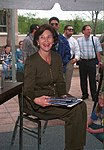 Laura Bush reads for Operation Bookmark at the George Bush Presidential Library.jpg