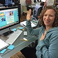 Laurie Berkner pledges to Pool Safely! (21866875248).jpg