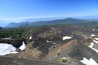 Lava flow outgoing from Collier Cone in Oregon (1).JPG