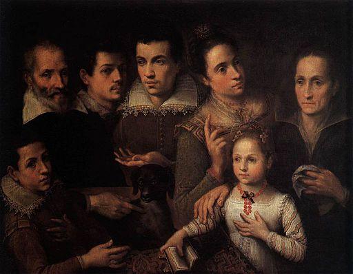 Lavinia Fontana - Family Portrait - WGA7980