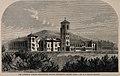 Lawrence Asylum, Ootakamund, Madras, India. Wood engraving b Wellcome V0014053 (cropped).jpg