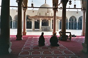 'Amr ibn al-'As - The Mosque of Amr ibn al-As in modern-day Cairo