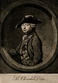 Le Chevalier D'Éon, a man who passed as a woman. Mezzotint b Wellcome V0007075.jpg