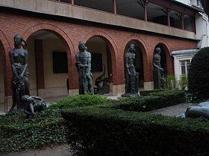 Musée Bourdelle - Image: Le jardin du musée Bourdelle à Paris