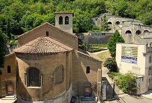 Grenoble Archaeological Museum - Image: Le musée archéologique de Grenoble