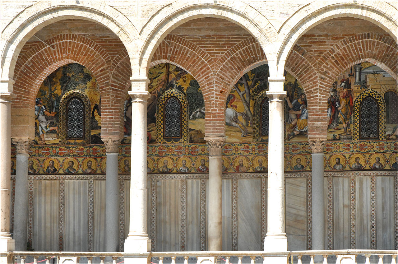 File le portique ext rieur de la chapelle palatine for Portique exterieur
