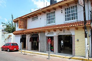 Villa del Carbón - A traditional structure in the municipal seat