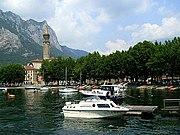Lecco, lake Como, church San Nicolò, Monte San Martino.jpg