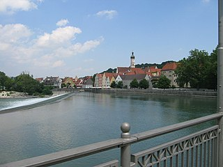 Landsberg am Lech Place in Bavaria, Germany