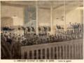 Lecture du jugement au conseil de guerre acquittant Esterhazy - Le Petit Journal - 1898.png