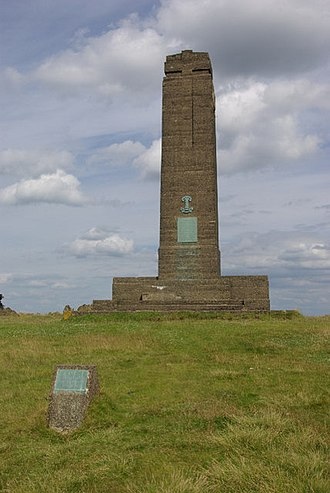 Swithland Wood and The Brand - Image: Leicestershire Yeomanry Memorial, Bradgate Park geograph.org.uk 885190