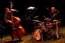Leon Parker, on the right, playing with Sean Smith