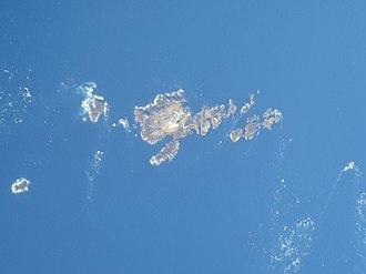 Les Casquets - Aerial photograph of Les Casquets