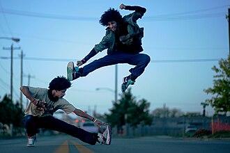 Les Twins - Image: Les Twins Dance SW