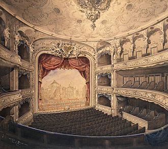 Lessing Theater - House