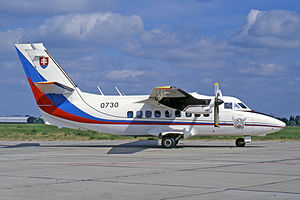 Let L-410 UVP Turbolet, 0730, Slovakian Air Force.jpg