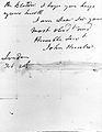 Letter from John Hunter, verso Wellcome L0026293.jpg